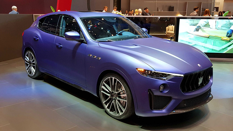 Авто с Яном Коомансом: главные новинки Женевского автосалона 2019. Maserati Levante Trofeo Launch Edition