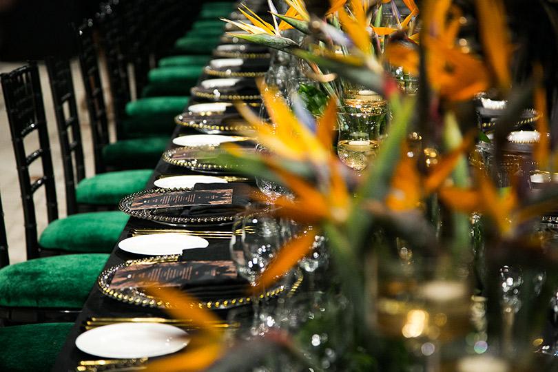 Райские кущи: в Петровском пассаже прошел светский ужин, посвященный 280-летию элитарных швейцарских часов Jaquet Droz