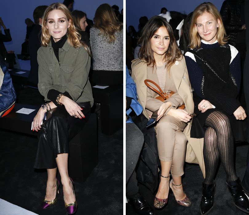 Звездные гости Недели моды в Париже, 2016: Оливия Палермо, Мирослава Дума и Элизабет фон Гуттман (System)