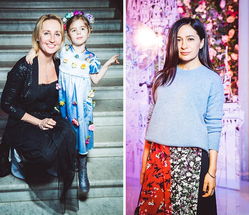 Компания Disney ипевица Зара пригласили гостей насветский завтрак вBaccarat Cristal Room. Оксана Бондаренко с дочерью. Анна Меликян