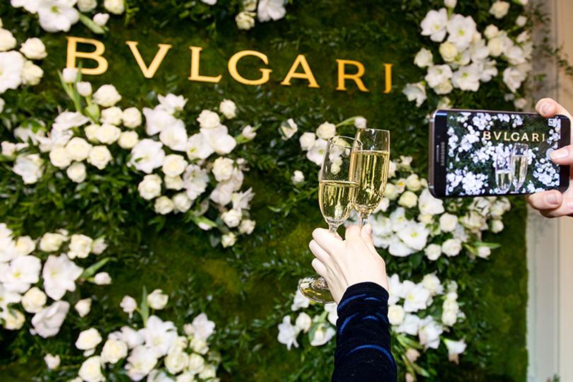 Открытие ювелирного бутика Bvlgari в ГУМе