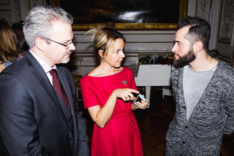 Иракли Пирцхалава и другие гости вечера