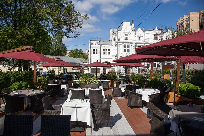Выходные вгороде: летние веранды московских ресторанов. OliOli