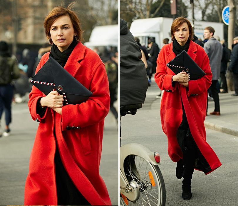 Street-Style: эксклюзивные фотографии с первого дня Недели кутюра в Париже в объективе Ино Ко. Карина Добротворская