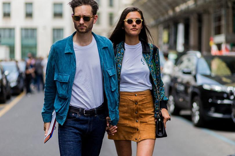 Street Style: лучшие образы на неделях мужской моды. Айзек Хиддин-Миллер