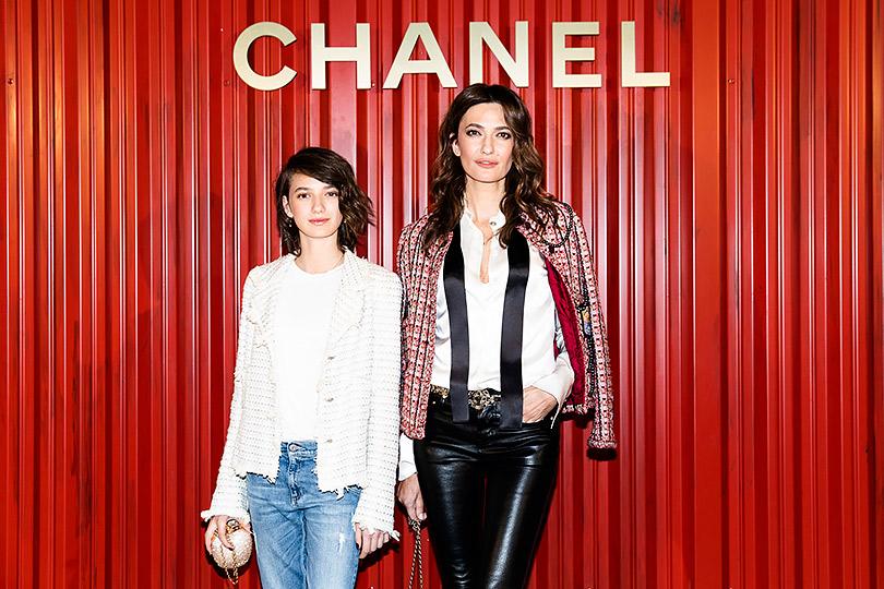 Показ Chanel Métiers d'art Paris— Hamburg вМоскве. Снежана Георгиева сдочкой