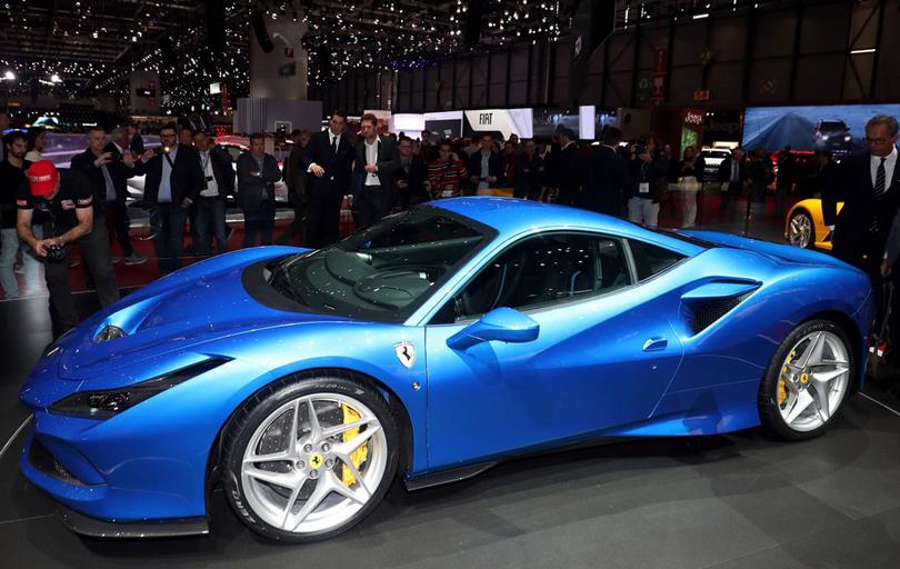 Cars with Jan Coomans. Geneva International Motor Show 2019. Ferrari F8 Tributo