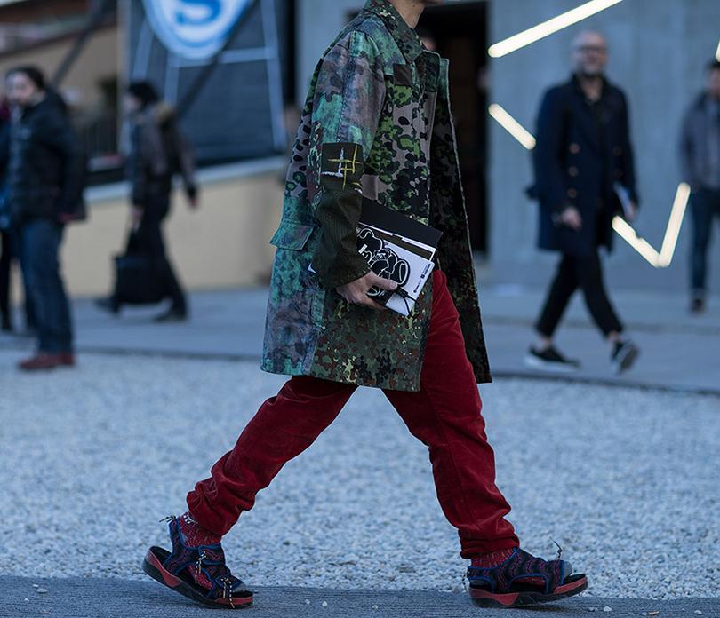 Men in Style: уличная мода на выставке Pitti Uomo