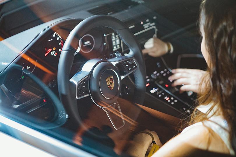 Авто: светская презентация нового Porsche Panamera