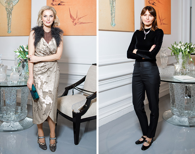 130-летие Дома Lalique. Анастасия Рагозина. Анна Брострем