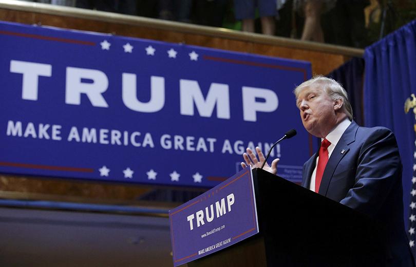 Красноречивый иэксцентричный— онобещает сделать Америку великой
