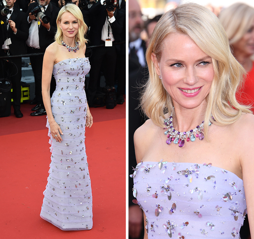 Cannes 2016: самые яркие звездные образы на церемонии открытия кинофестиваля. Наоми Уоттс вArmani Privé