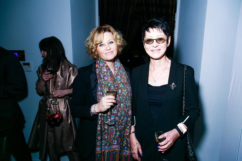 Юлия Скорцова и Ирина Хакамада