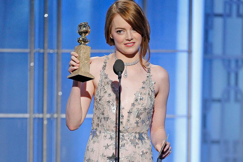 КиноТеатр: «Ла-Ла Лэнд» идругие победители «Золотого глобуса». Эмма Стоун
