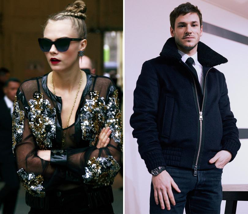 Показ Chanel на Неделе высокой моды в Париже: Кара Делевинь, Гаспар Ульель