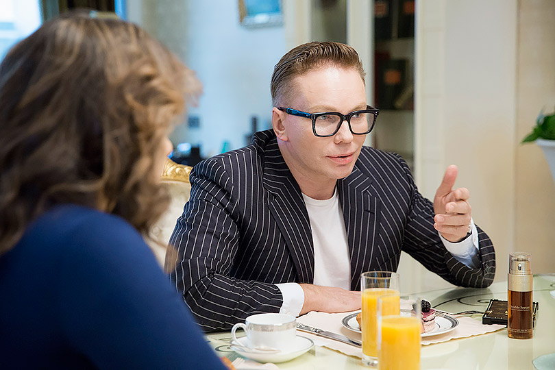 Эдгар Шабанов (генеральный директор Clarins Group в России)