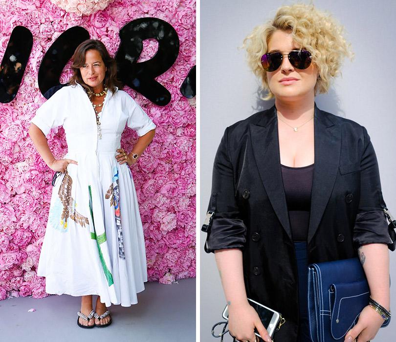 Первый показ Кима Джонса для Dior Homme. Джейд Джаггер. Келли Осборн