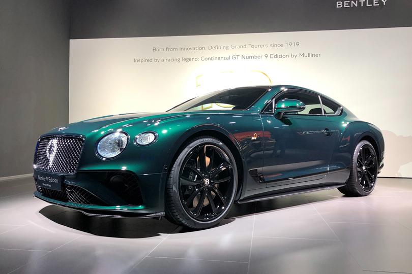 Cars with Jan Coomans. Geneva International Motor Show 2019. Bentley Continental GT 9
