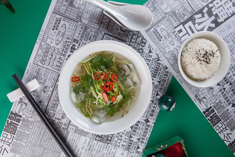Всвоей тарелке: холодные супы вресторанах Москвы. «Китайские новости»