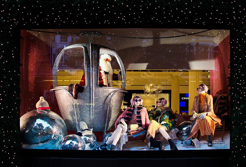 Новый год: праздник кнам приходит— самые красивые рождественские витрины мира. Selfridges
