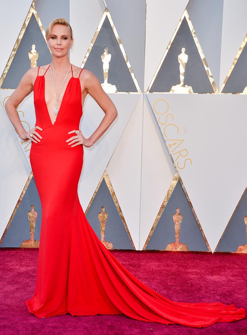 Oscars Special 2016: Шарлиз Терон в Christian Dior Couture