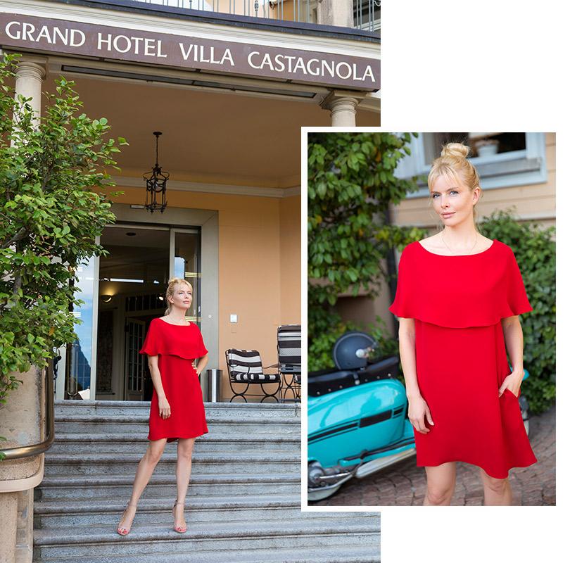 На Анне: платье, Valentino
