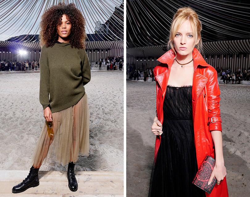 Дождь над Шантийи: Мария Грация Кьюри представила круизную коллекцию Dior. Тина Кунаки. Дарья Строкоус