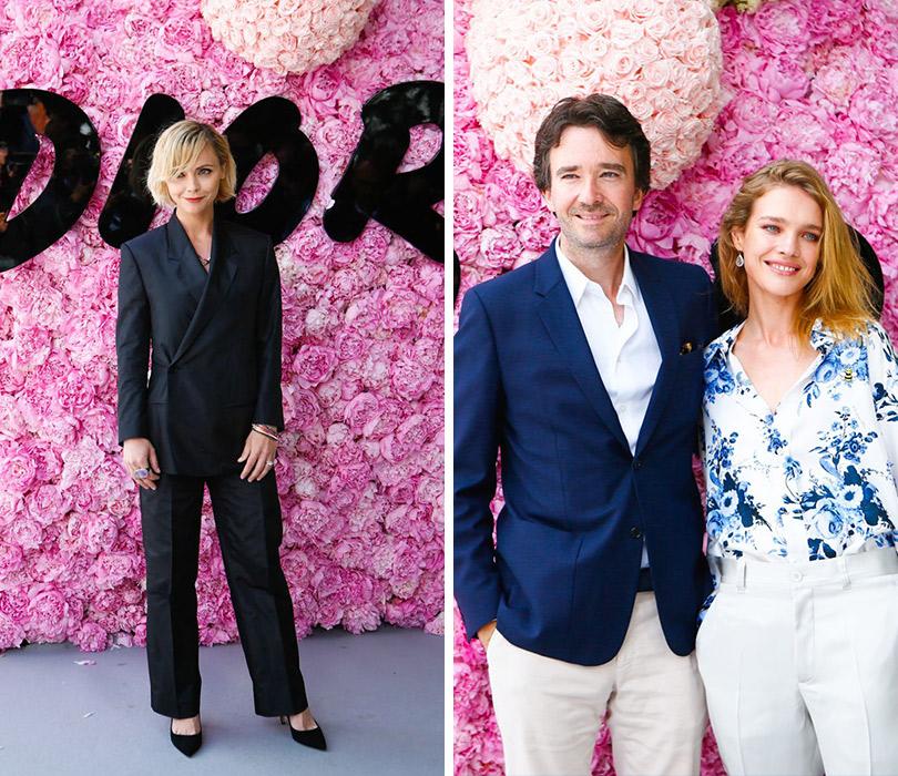 Первый показ Кима Джонса для Dior Homme. Кристина Риччи. Антуан Арно иНаталья Водянова