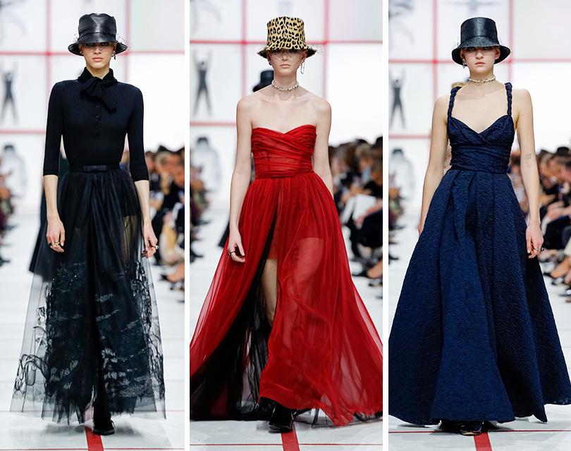 Женщина «от А до Я»: показ Christian Dior в Париже, созданный Марией Грацией Кьюри под впечатлением оттворчества Томасо Бинга