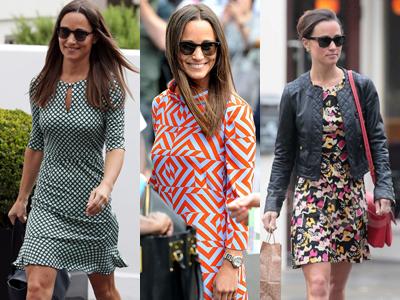 Пиппа. Модные предпочтения: любит принты, может похвастаться большой коллекцией солнцезащитных очков