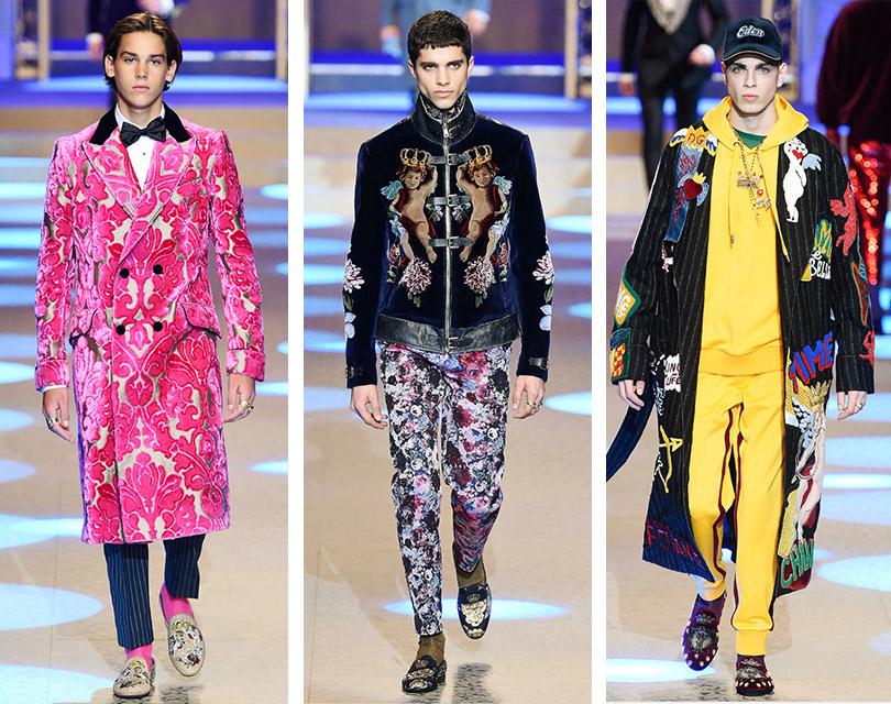 Все самое интересное снедель мужской моды: Dolce &Gabbana