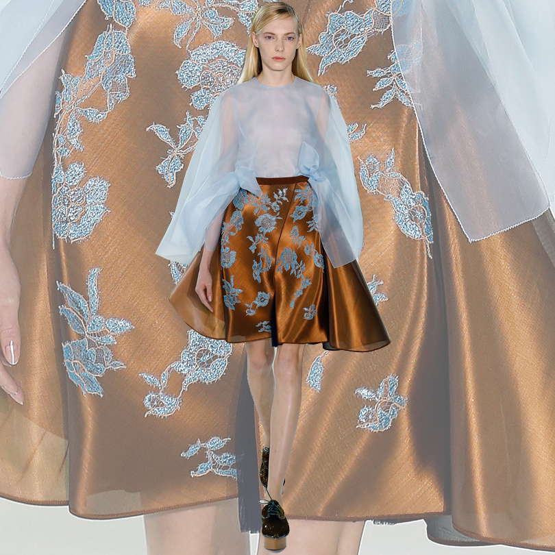 Самые яркие моменты New York Fashion Week 2016: Delpozо