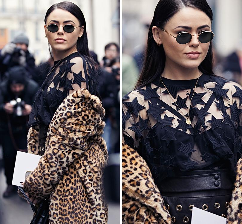 Street Style: эксклюзивные фотографии стретьего дня Недели Haute Couture вПариже вобъективе ИноКо. Кристина Базан