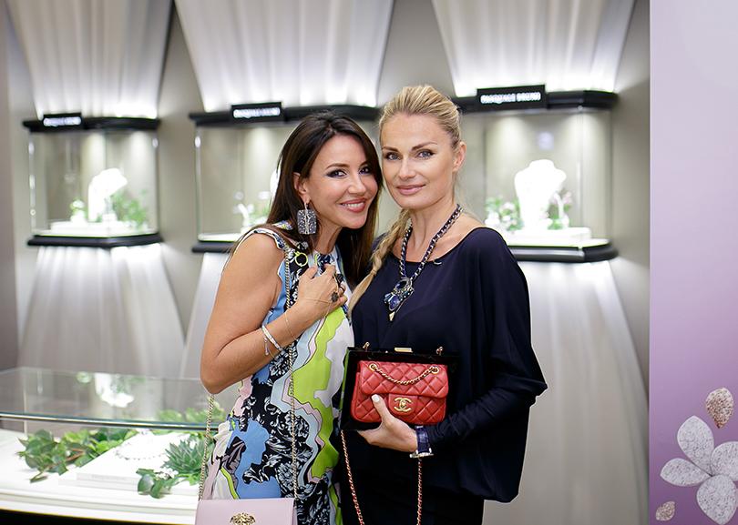 Коктейль Pasquale Bruni на Vogue Fashion's Night Out: Ирина Чайковская и Татьяна Ершова