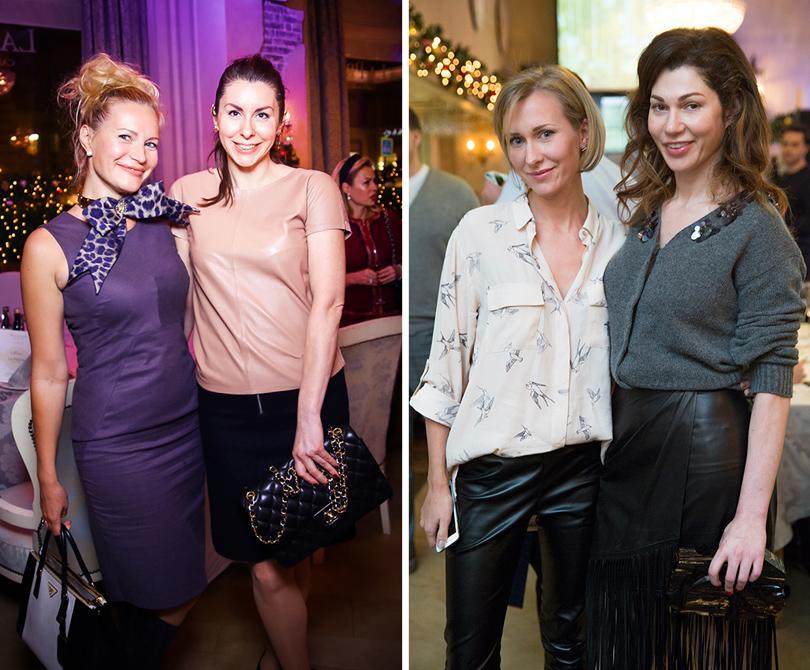 Екатерина Пузенко (GallaDance) и Элина Зорина («Авилон»), Ирина Кузнецова (Poison Drop) и Евгения Линович