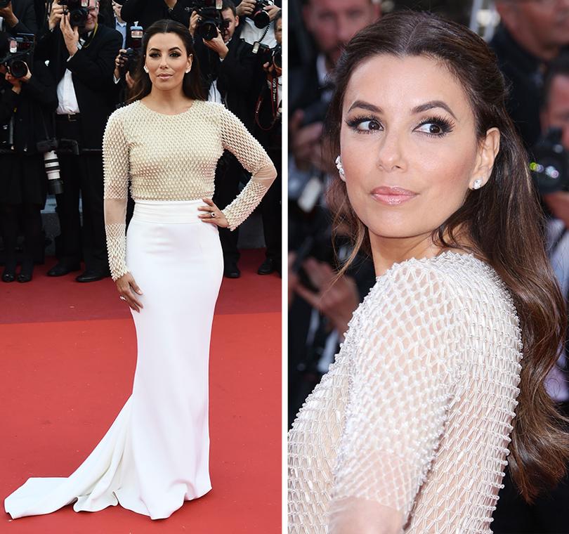 Cannes 2016: самые яркие звездные образы на церемонии открытия кинофестиваля. Ева Лонгория вPamella Roland