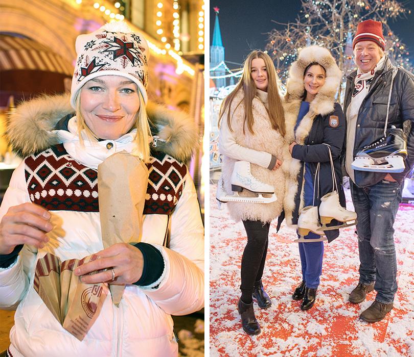 Виктория Толстоганова, Екатерина и Александр Стриженовы с дочерью