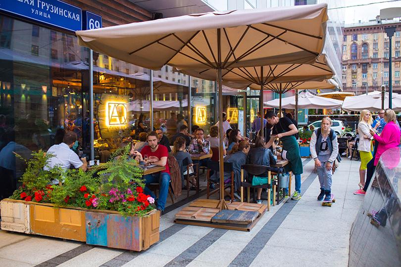 Выходные вгороде: летние веранды московских ресторанов. AQKitchen