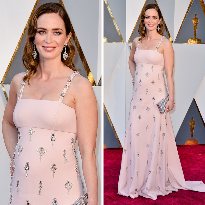 Oscars Special 2016: Эмили Блант в Prada
