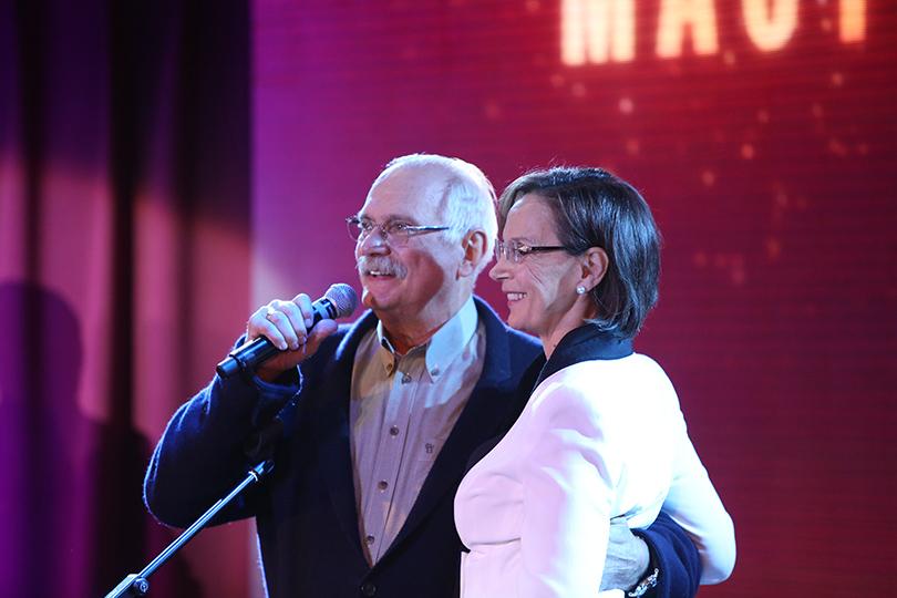 Никита Михалков и Ирина Купченко