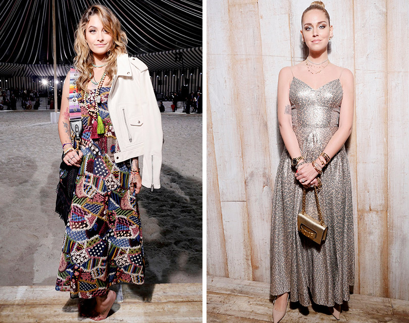Дождь над Шантийи: Мария Грация Кьюри представила круизную коллекцию Dior. Пэрис Джексон. Кьяра Ферраньи
