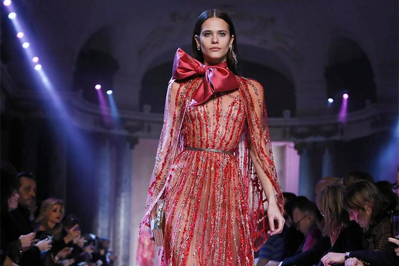 Элегантные 1920-е вколлекции Elie Saab Couture