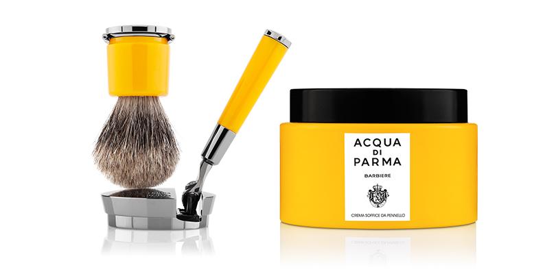 Обновленные средства излинейки для бритья имужского ухода, Acqua diParma Barbiere