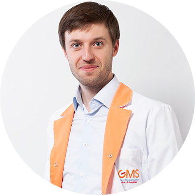 К.м.н. Сергей Вялов, гастроэнтеролог игепатолог GMS Clinic