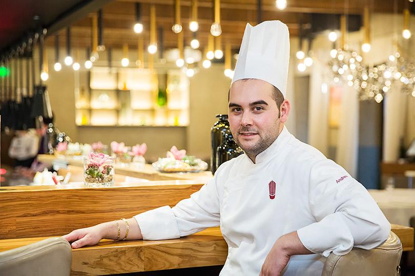 Шеф Maritozzo Андреа Имперо: «Зачастую у русских обед — как банкет: на столе должно стоять все сразу!»
