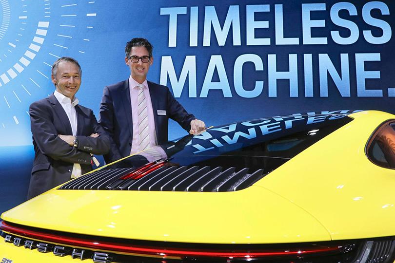 August Achleitner and Frank-Steffen Walliser