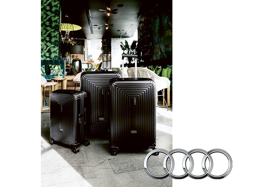 Самые красивые чемоданы и другой багаж из lifestyle-коллекции: Audi