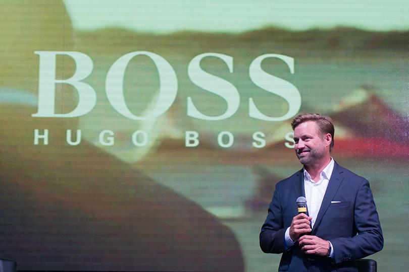 Ужин Hugo Boss иMercedes-Benz вчесть яхтсмена Алекса Томсона. Алекс Томсон