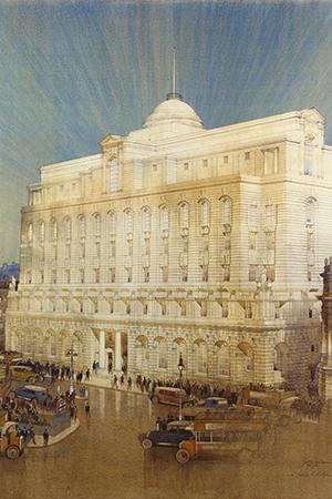 Банки превращаются: отели, бутики икартинные галереи вбывших банковских особняках инебоскребах. Лондон, Ned Hotel, 27Poultry