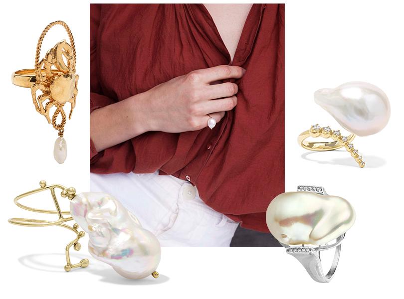Кольца Givenchy, Pernille Lauridsen, Mizuki (Net-a-Porter), Serebriciti Jewelry (Poison Drop)